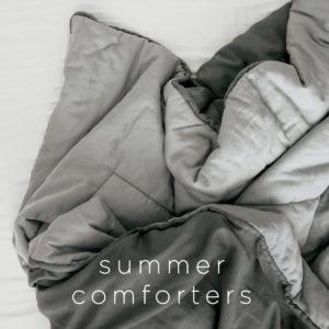 Summer Comforters & Blankets