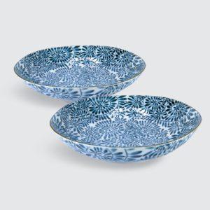 "TSURU Japanese Tableware 8.27"" Deep Dish - RME007"