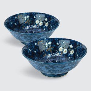 "TSURU Japanese Tableware 8.35"" Noodle Bowl - SY087"