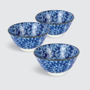 """TSURU Japanese Tableware 5.12"""" Multi Bowl - SY167"""