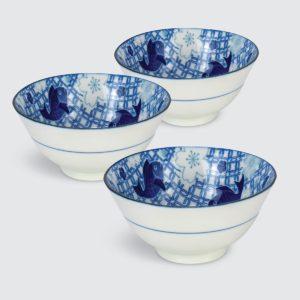 """TSURU Japanese Tableware 5.91"""" Multi Bowl - SY173"""