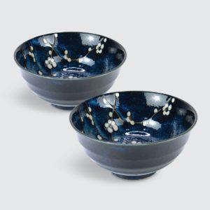 "TSURU Japanese Tableware 6.69"" Noodle Bowl - SZ027"