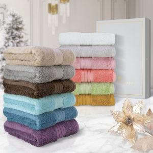 CHARLES MILLEN Signature Collection Egyptian Cotton Bath Towel Gift Set – REGIS