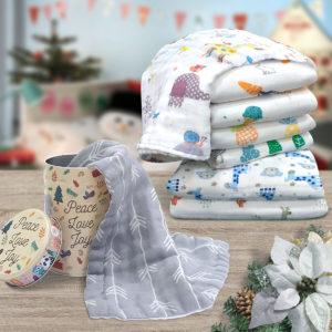 THE GANG 100% Gauze Cotton Fingertip Towel Gift Set – GAUZE ASSEMBLAGE