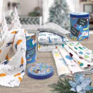 THE GANG 100% Gauze Cotton Spruce-up Towel Gift Set – GAUZE ASSEMBLAGE