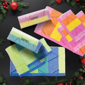 ESPRIT HOME 100% Combed Cotton 3pc Towel Gift Set – TL69X