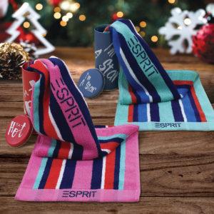 ESPRIT HOME 100% Combed Cotton Sports Bath Towel Gift Set – TLC09