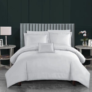 CHARLES MILLEN Signature Collection Bed Linen QUEENSBERRY Extra Fine Long Staple Cotton (Porcelain White)