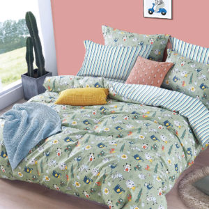 THE GANG Bed Linen 675 Thread Count Fitted Sheet Set ZOOBA