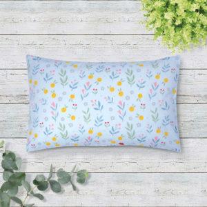 THE GANG Boudoir Pillow 100% Cotton 675TC LIVIA Blue