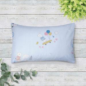 THE GANG Boudoir Pillow 100% Cotton 675TC OWEN Blue A