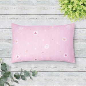 THE GANG Boudoir Pillow 100% Cotton 675TC OWEN Pink B