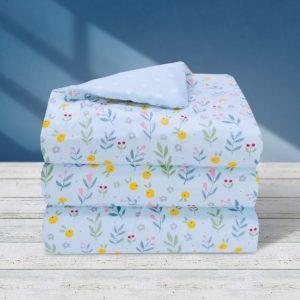 THE GANG Summer Comforter 100% Cotton 675TC LIVIA Blue