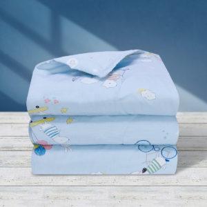THE GANG Summer Comforter 100% Cotton 675TC OWEN Blue