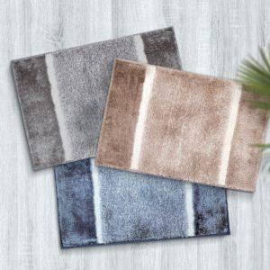 CHARLES MILLEN Suite Collection 100% Microfibre Anti-slip Mat – NADIA (FLUFF series)