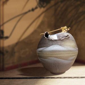 TSURU Water Fountain TSUKUBAI N651-03A