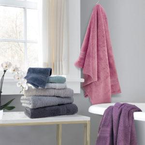 CHARLES MILLEN Signature Collection 100% Turkish Agean Cotton Aqua Fibro Towel GALLA